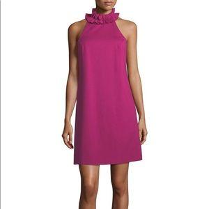 NWT Trina Turk Pink Dobbie Dress Size 8
